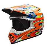 MOTO-9 FLEX LE MC Replica MX Helm Orange Größe: XL (60-61 cm)