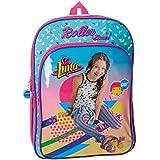 Disney 4852451 Soy Luna Roller Zone Mochila Escolar, 40 cm, 15.6 Litros, Multicolor