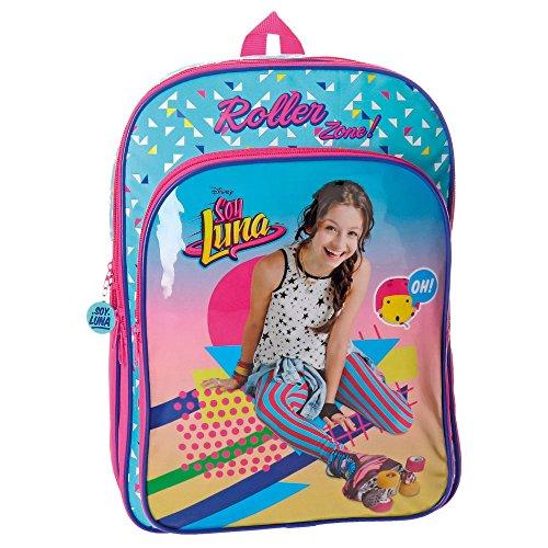 Imagen de disney 4852451 soy luna roller zone  escolar, 40 cm, 15.6 litros, multicolor