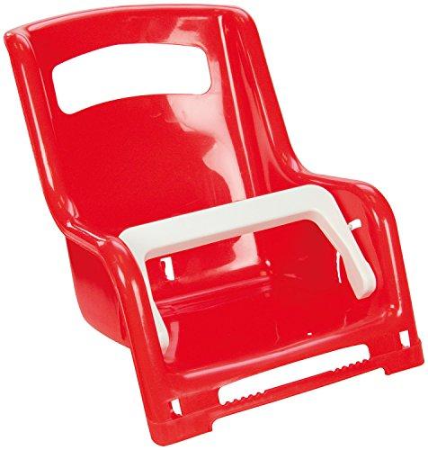 Lena 61168 - Gepäckträger-Sitz für Puppen ca. 27 cm, 2 fach sortiert