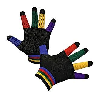 Gants d'équitation Magic Grippy, multicolore - A29004
