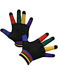 Kerbl Magic Grippy Gants d'équitation Pour enfant Multicolores Taille Unique