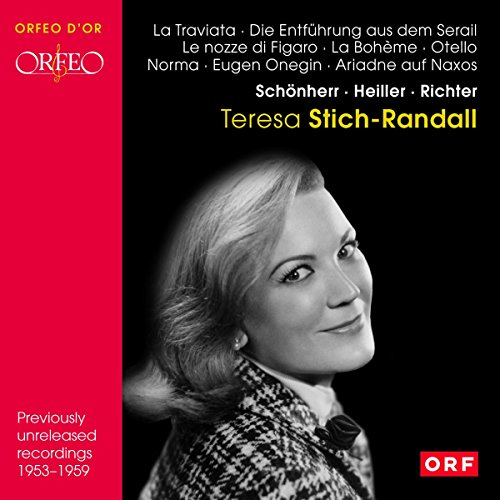Teresa Stich-Randall: Previously Unreleased Recordings, 1953-1959