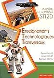 Enseignements techniques transversaux 1re et Tle STI2D