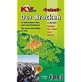 Brocken / Nationalpark Harz: 1:25.000 Freizeitkarte mit Wanderwegen, Wintersportmöglichkeiten und Informationsteil zum Nationalpark (KVplan-Freizeit-Reihe)