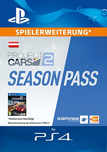 Project CARS 2 Season Pass Edition [PS4 Download Code - österreichisches Konto]