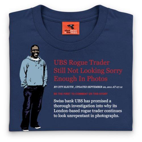 Square Mile Adoboli T-Shirt, Herren Dunkelblau