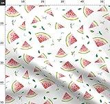 Wassermelone, Obst, Sommer, Frühling, Essen, Stoffe -