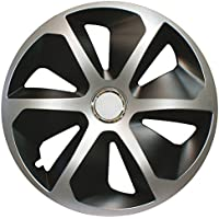 CORA 41944 4 Universal Aluminio Look ROCO Mix Tapacubos, 14, ...