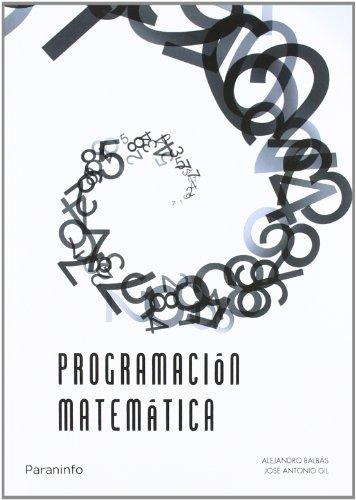 Programación matemática por A. Fernandez Diaz