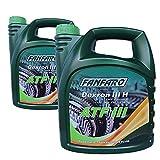 FANFARO 2 x 4L ATF III/Getriebeöl Servoöl Dexron 3 Rot