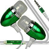 i-Tronixs (Green +Earphones) Umi Iron Eyeprint Case cover