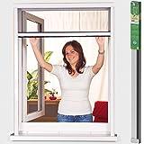 easy life Insektenschutzrollo greenLINE Alu Rollo Fliegengitter Fenster mit Alurahmen und hochwertigem Fibergalsgewebe individuell kürzbar, Größe:125 x 170 cm