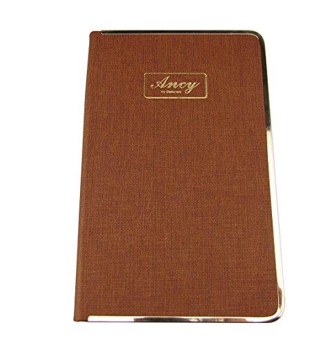 Business Stil Hardcover Persönlichen Schreiben Notizbuch Diary Wochenplaner Agenda M coffee