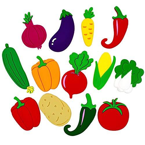 Lovely Fruits - Imanes Nevera diseño Flores Verduras