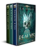 The Realms Omnibus Volume 1: An Epic LitRPG Gamelit Series: (Barrow King, The Lost City, Killing Time) (English Edition)