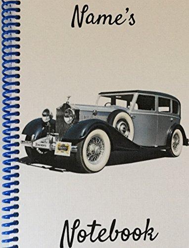 vintage-rolls-royce-personalised-notebook