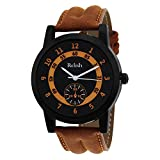 Relish Casual Analogue Black Dial Watch ...