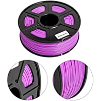 HuaForCity® ABS Filament (1 kg / Volume) 3D-Druck-Feder-Filaments 1.75mm 3D Stereoscopic Printing Pen ABS Filament ABS Filament (1KG/Volume) 3D Printing Pen Filaments 1.75mm 3D Stereoscopic Printing Pen ABS Filament(Purple)