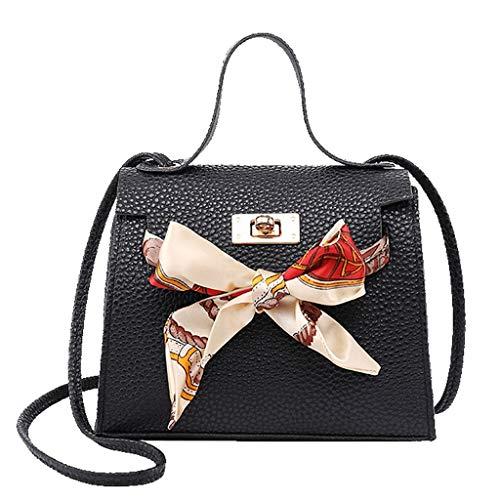 HROIJSL Mode Damen Weisedame Shoulders Bag Handbag Letter Purse Handy Kuriertasche Ausflug Einkauf Veloursleder aus Nappaleder Citytasche Retro Vintage Kette Band Casual Chic Stilvolle -