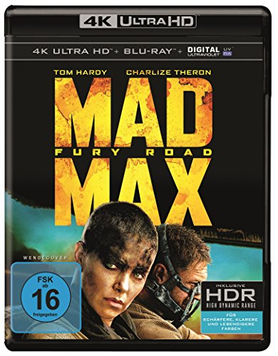 Preisvergleich Produktbild Mad Max: Fury Road (4K Ultra HD + 2D-Blu-ray) (2-Disc Version) [Blu-ray]