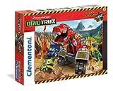 Clementoni 23983.2 - Maxi 104 T Dino Trux, Puzzle