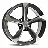 Borbet S graphite polished matt 8x18 ET45 5.00x114 Hub Bore 72.50 mm - Alu felgen