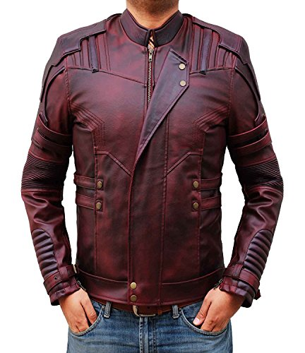 guardians-of-the-galaxy-2-sterne-lord-jacket-m-rot