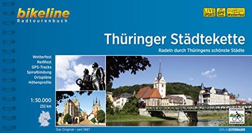 Thuringer Stadtekette Radtourenbuch 2016