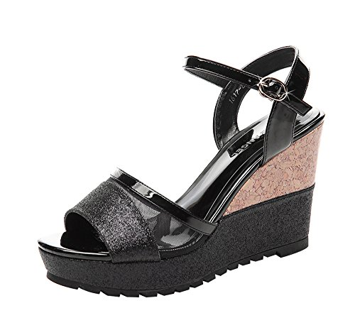 fq-real-womens-fashion-open-toe-ankle-strap-mesh-wedge-heel-sandals-5-ukblack