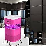 Dr. photocatalyseur moustiques moustiques moustiques lampe bébé enceinte moustiques foyer IED insecte électronique répulsif, pas de rayonnement ( couleur : Rose )