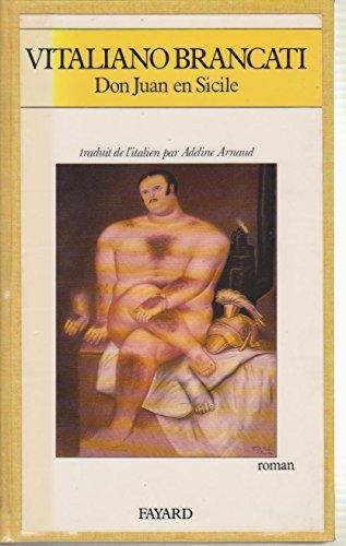 Don Juan en Sicile par Vitaliano Brancati