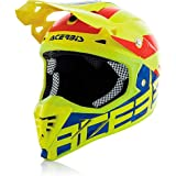 Casque moto cross enduro Acerbis Profile 3.0 BlackMamba jaune fluo/bleu Medium