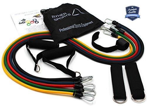 ryher-gomas-elasticas-fitness-y-ejercicio-kit-de-12-con-asas-correas-para-el-tobillo-anclaje-para-pu