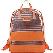 Jacki Design Felicita 2 Pc Back Pack Set,Felicita,Orange,AHL15078OR