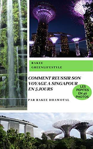 Couverture du livre COMMENT RÉUSSIR SON VOYAGE A SINGAPOUR EN 5 JOURS: Tout en économisant du temps et de l'argent