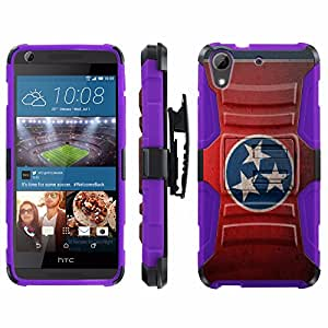 [ArmorXtreme] Case for HTC Desire 626 / 626S [Combat Armor Heavy Duty Case with Holster] - [Tennessee Flag]