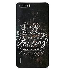 ifasho Designer Back Case Cover for Huawei Honor 6 (Marriage Online Education)