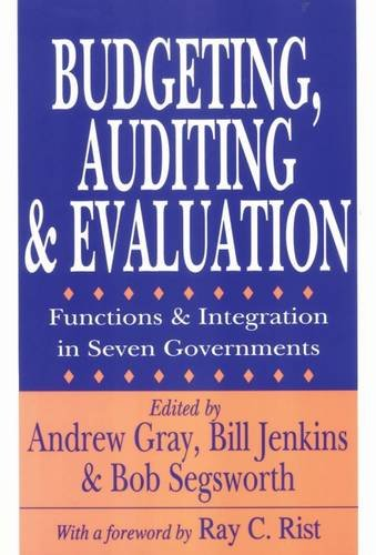 Budgeting, Auditing, and Evaluation: Functions and Integration in Seven Governments (Comparative Policy Evaluation) por Andrew Gray