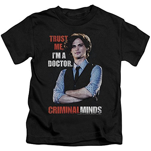Criminal Minds FBI Drama Series Spencer Trust Me I'm A Dr. Little Boys T-Shirt T