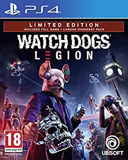 Watch Dogs Legion Limited Edition (Exclusive to Amazon.co.uk) (PS4) (B07SNCHK2R) | Amazon Products