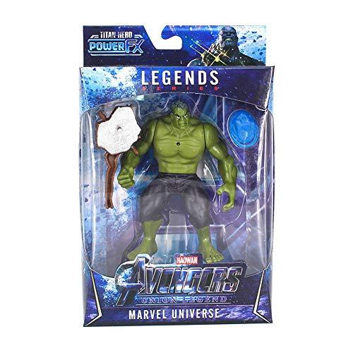"""Figurines Monifuon Marvel Toys, Marvel Legends Endgame 6,5""""Figurines articulées des membres LED pour la décoration de voiture"""