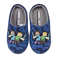 Minecraft Official Boys Surrounded Slippers