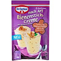 Dr. Oetker Dessert nach Art Bienenstich Creme, 12er Pack (12 x 58 g)