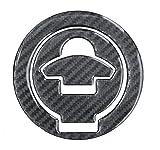 Tankdeckel-Pad 3D 610025 Carbon Schwarz - Hightech-Folie mit sichtbarer Struktur - universeller Tank-Schutz passend für Ducati-Tanks