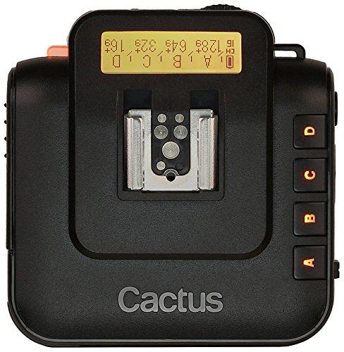 Cactus V6 - Transceptor inalámbrico, negro