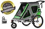 QERIDOO Kinderfahrradanhänger Speedkid2 Transportwagen Handwagen