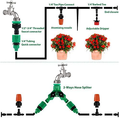 Zoom IMG-4 emooqi 30m sistema di irrigazione