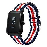 squarex Leinwand Watch Band Gurt mit Schnalle Stecker für Xiaomi amazfit Sport -, damen, a, AS Show