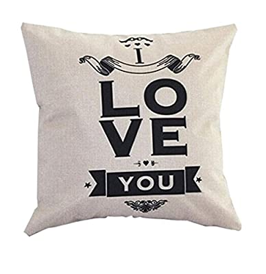Bessky Car Home Sofa Bed Decor Linen Throw Pillow Case,45 x 45cm - cheap UK sofabed store.